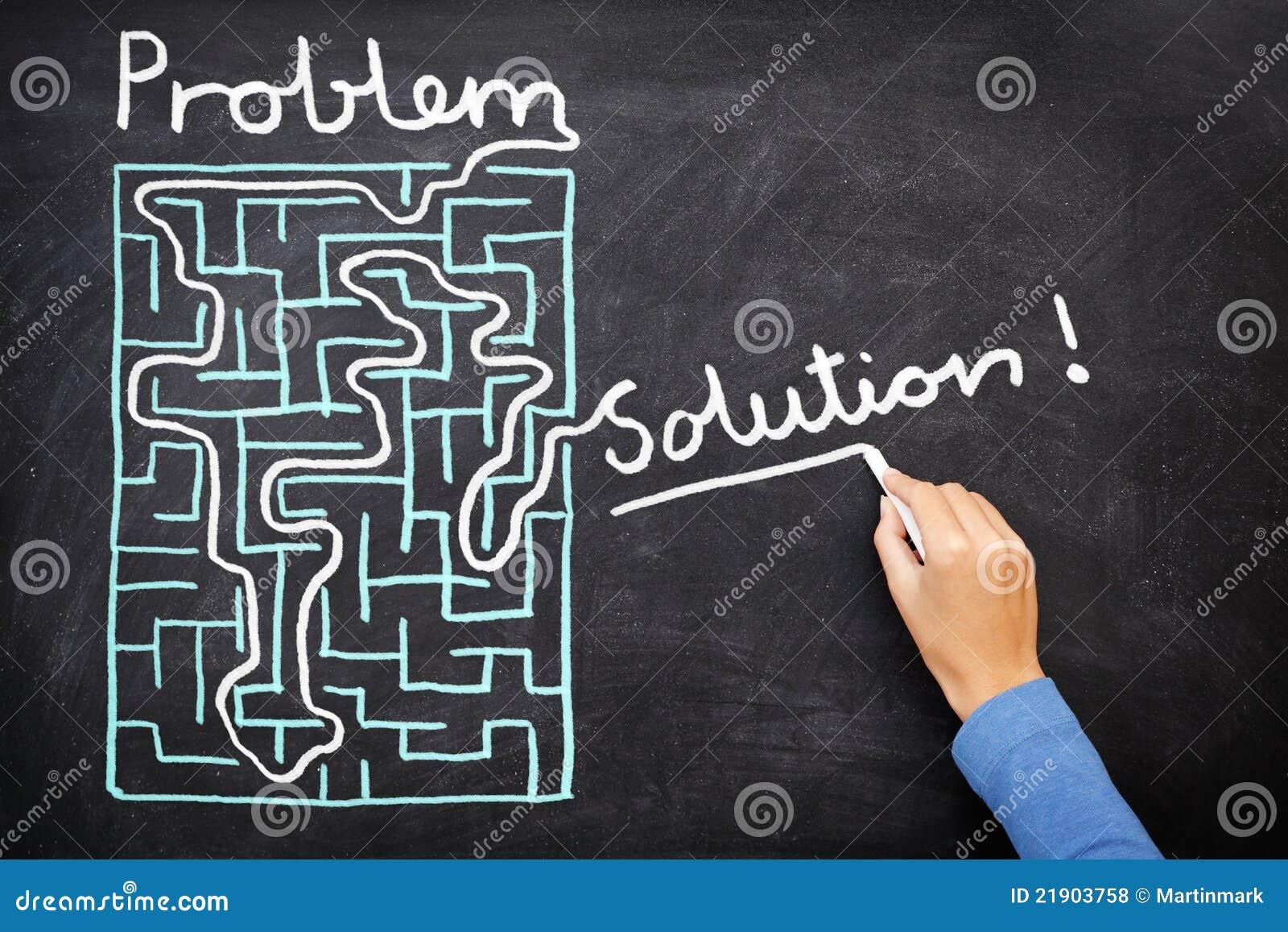 Problem und Lösung - Lösen des Labyrinths