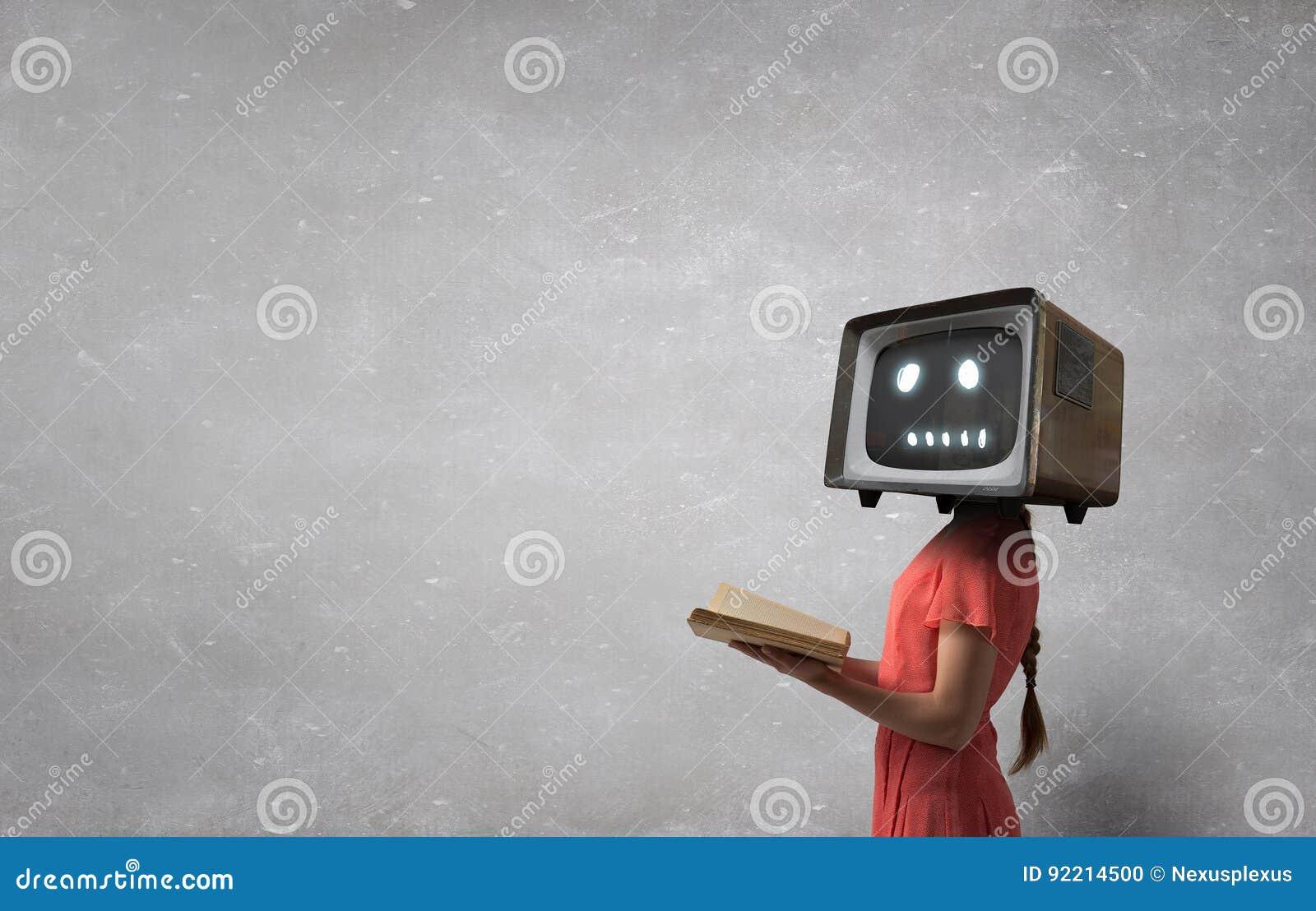 Problema del apego de la televisión Técnicas mixtas