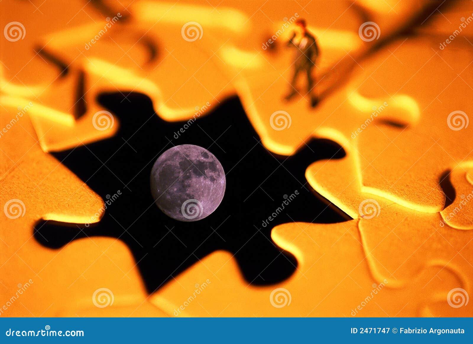 Problema do enigma da lua