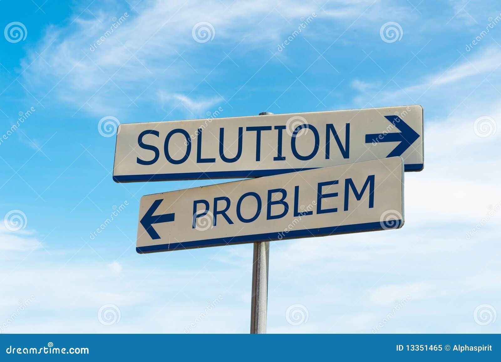 Problema e modo della soluzione