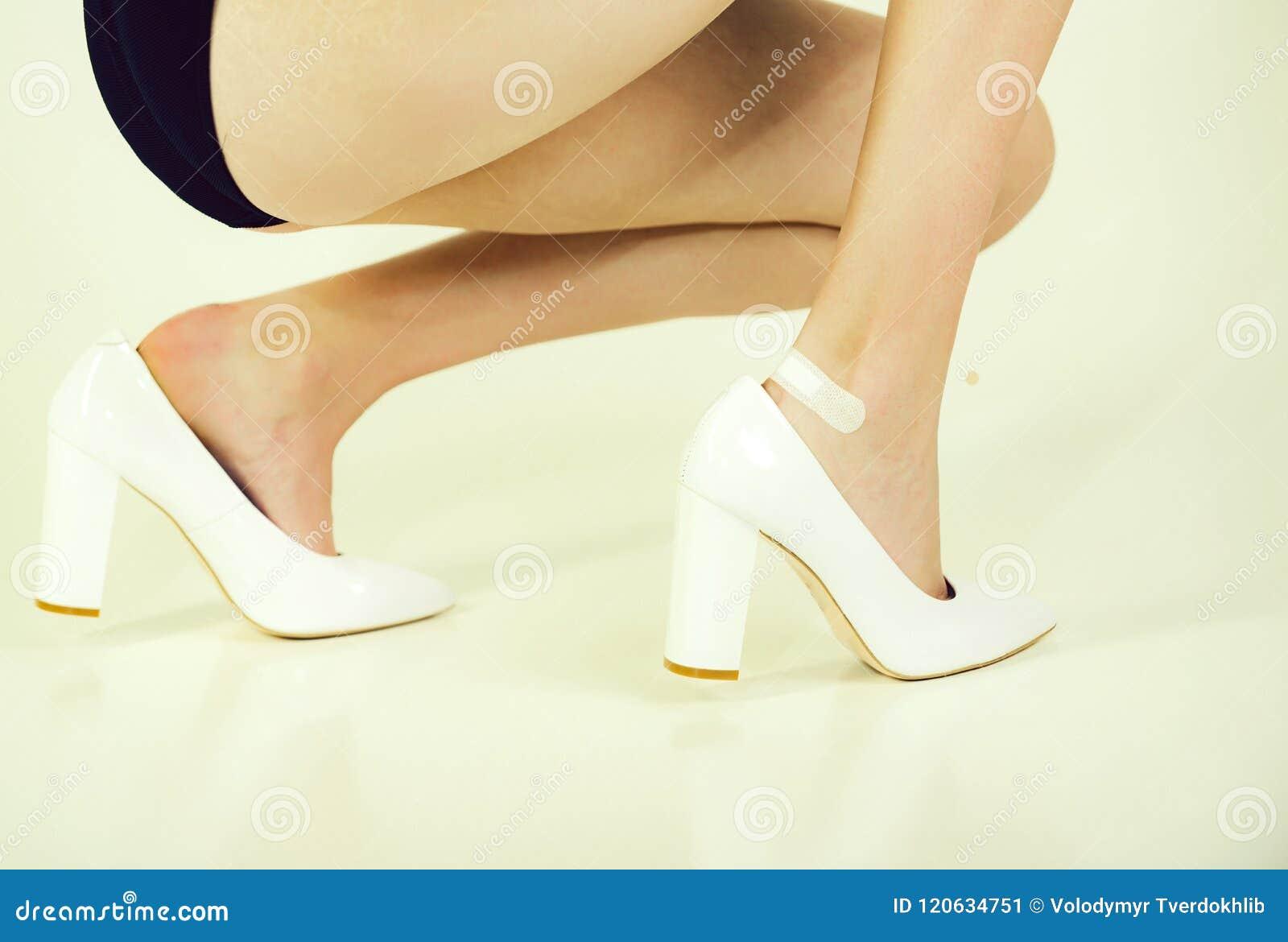 De Yeso En Con Problemas Zapatos Calzado Herida La Pierna 8qw8xtd