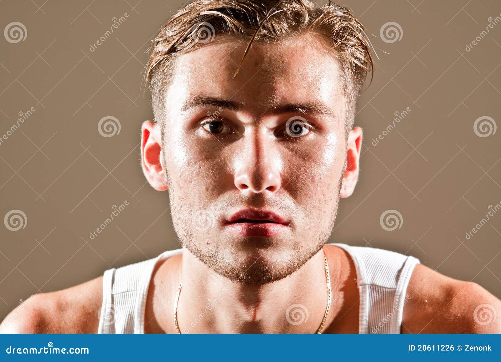 Problemas de piel de los hombres
