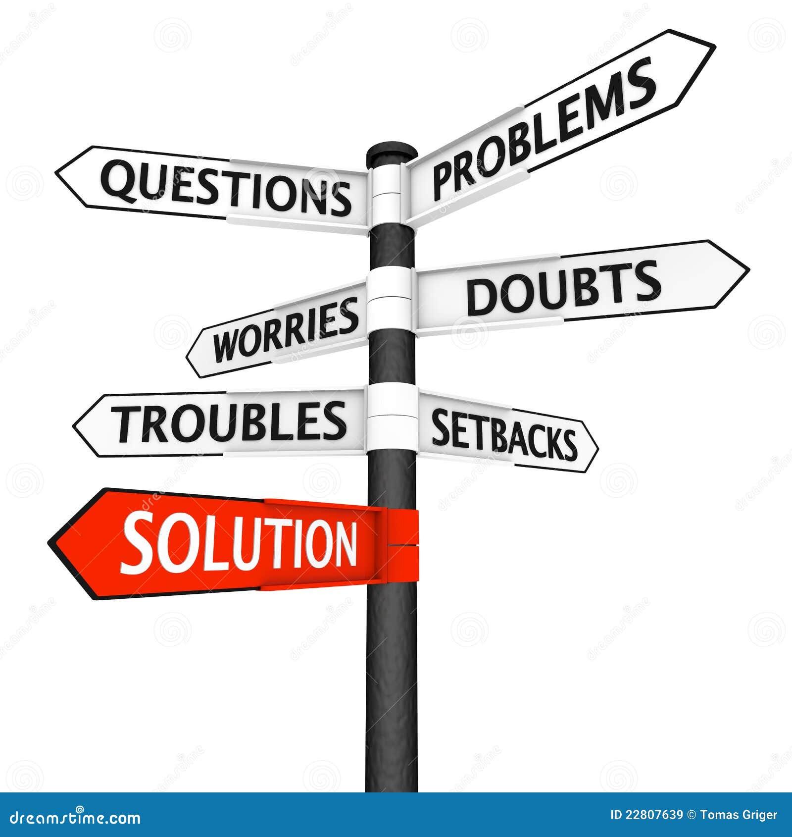 Probleme und Lösungs-Wegweiser