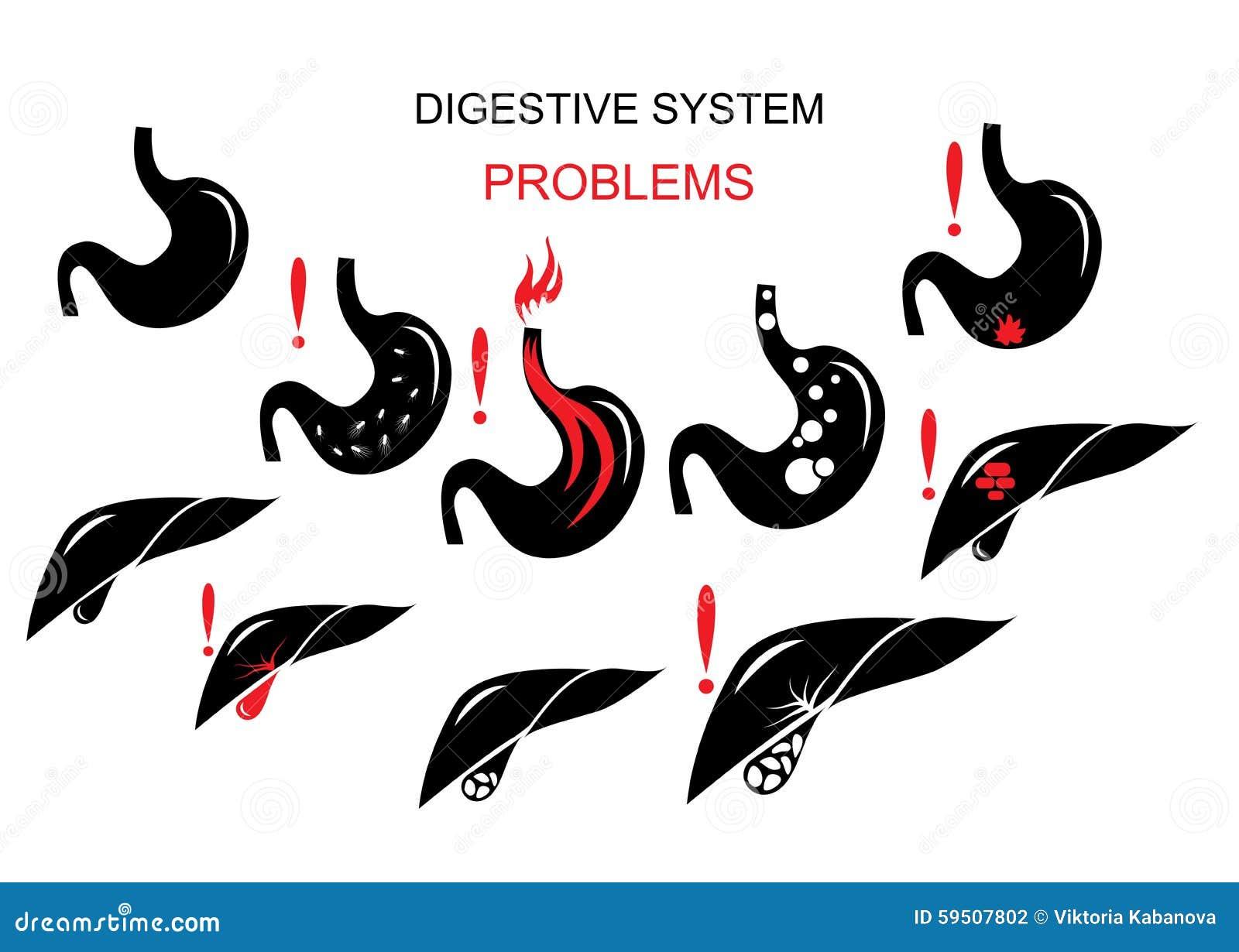 Problemy trawienny system