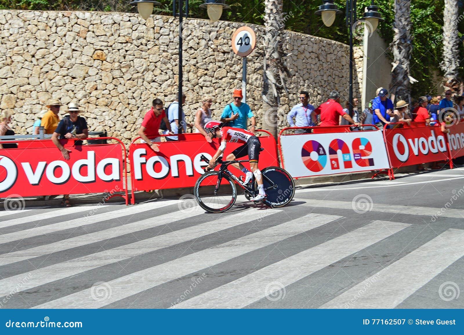 Procès de temps de Vuelta Espana de La de Soudal de loto