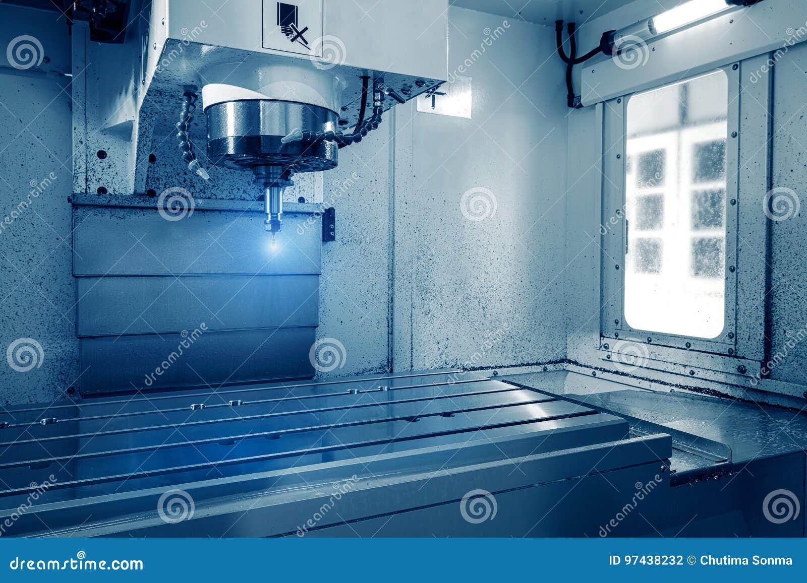 Procédé de fraisage de travail des métaux de coupe Usinage industriel de commande numérique par ordinateur de précision du détail