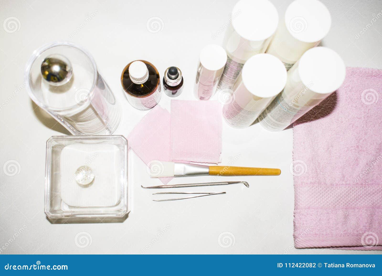 Procedimientos de la cosmetología