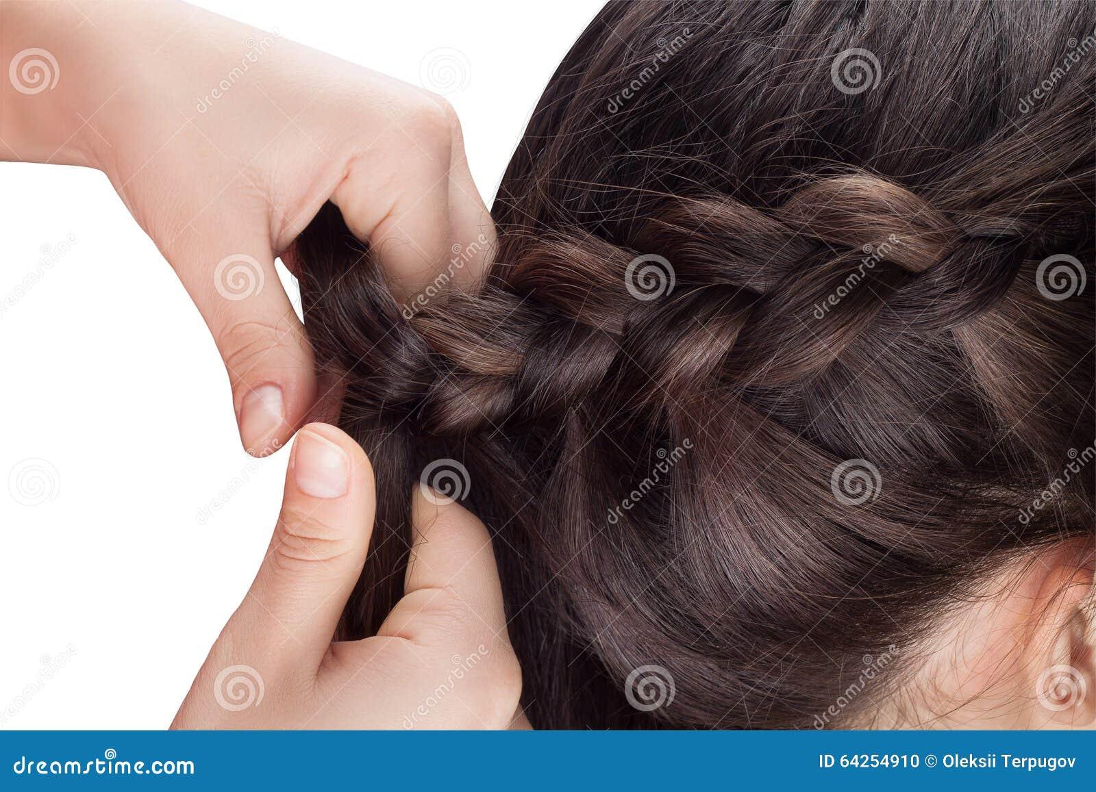 Procedure Weave Braid Stock Photo Image Of Closeup Beauty 64254910
