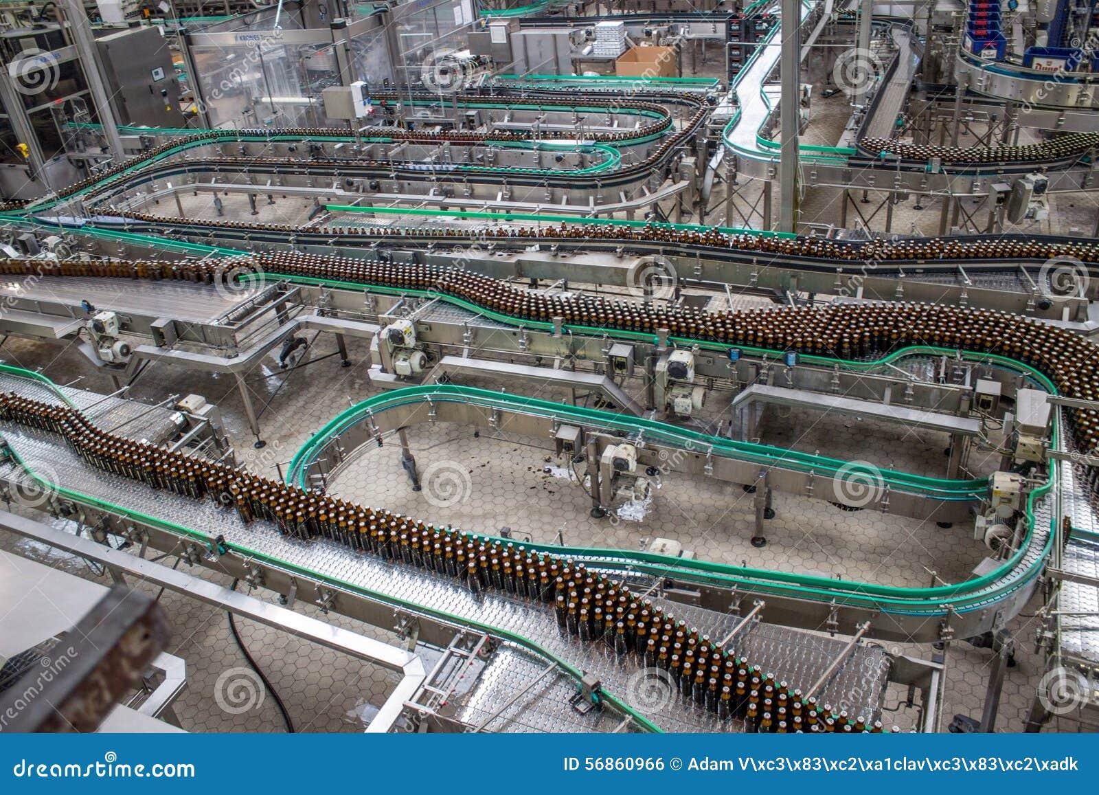 Proces produkcyjny piwo fabryki technologiczne
