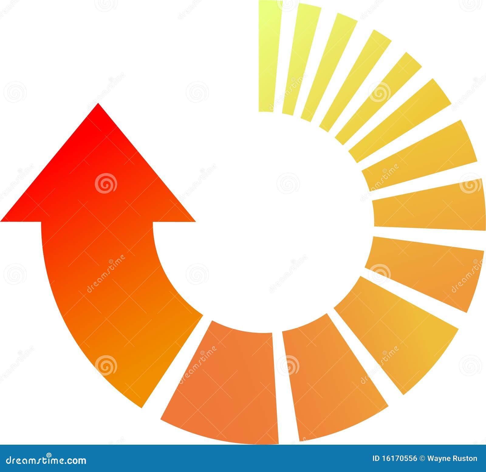 Process cycling arrow by arrow royalty free stock images image - Process Arrow Royalty Free Stock Image