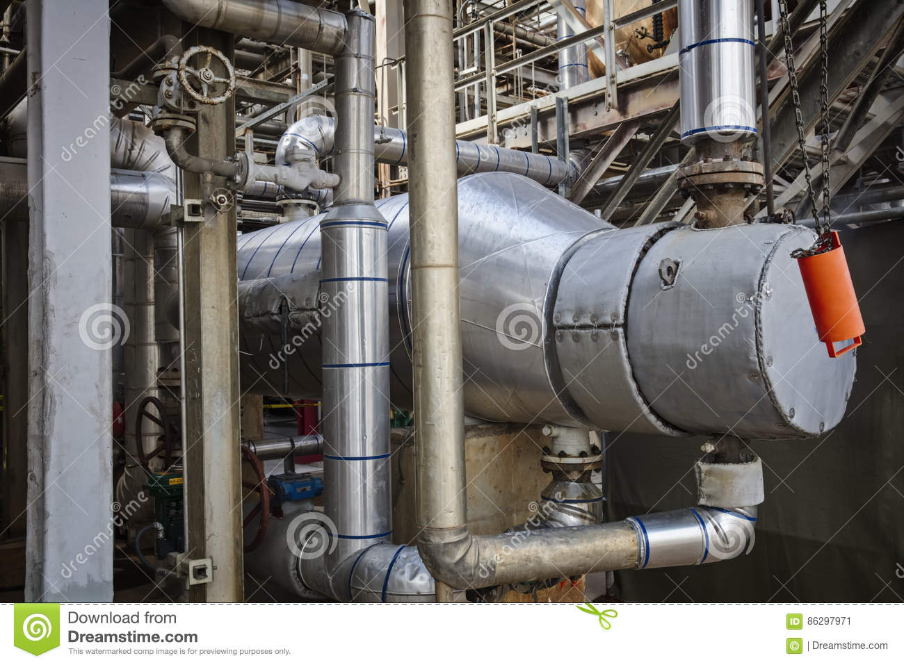 process cooler or exchanger for refinery or chemical plant