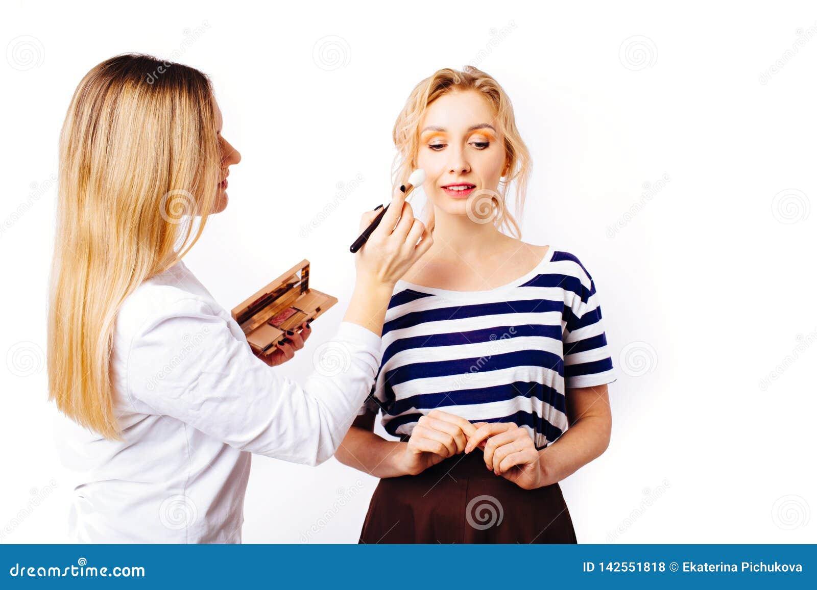 The process of creating makeup