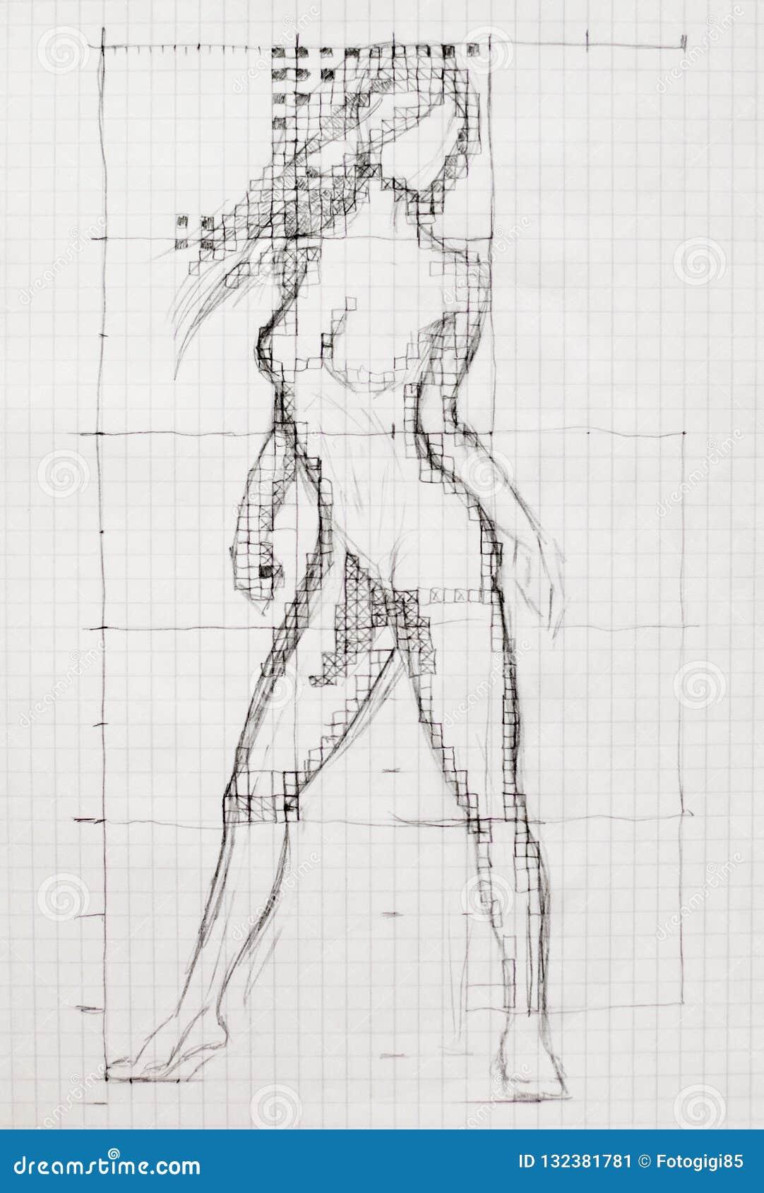 natural female naked body