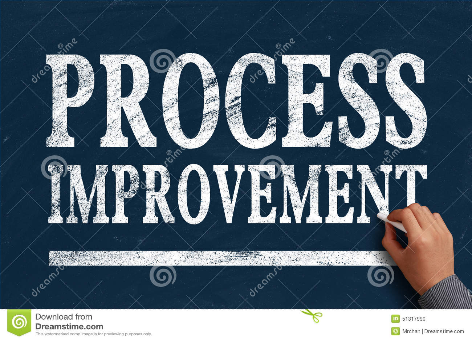 Process Improvement Stock Photo Image 51317990