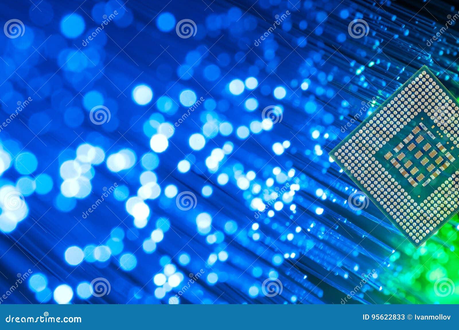Processador Chip On Fiber Optics