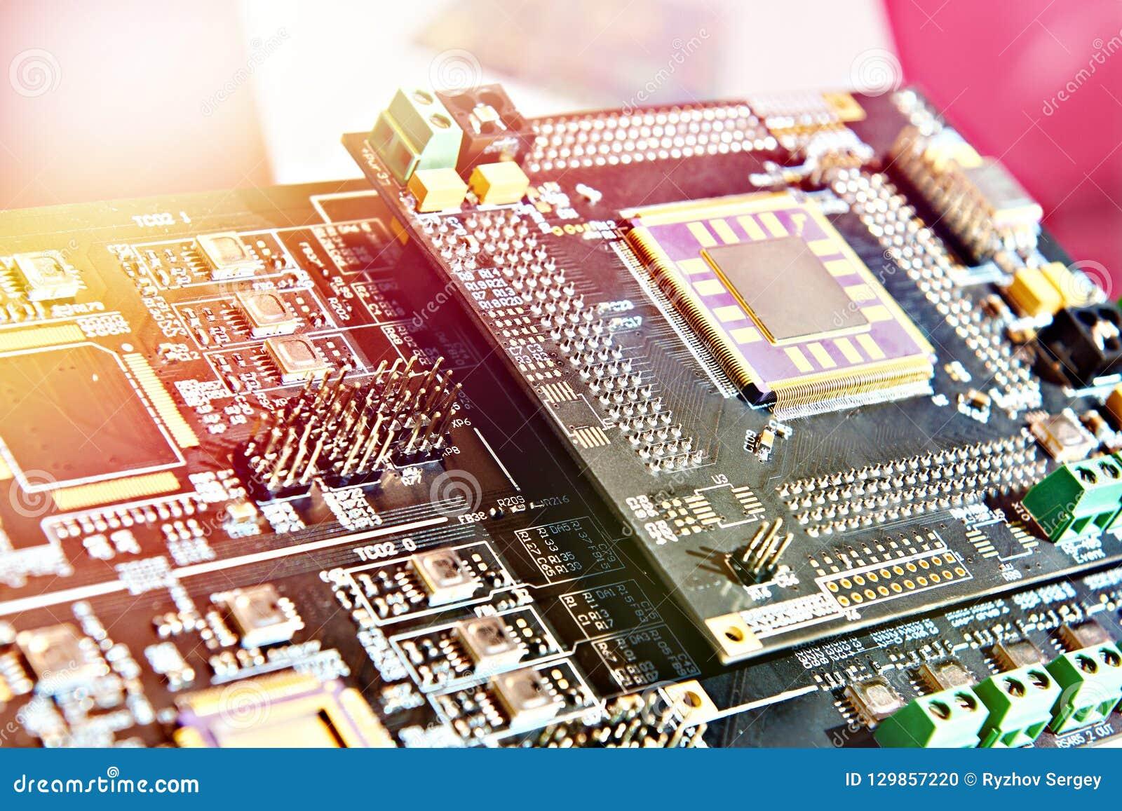 Processador na placa eletrônica