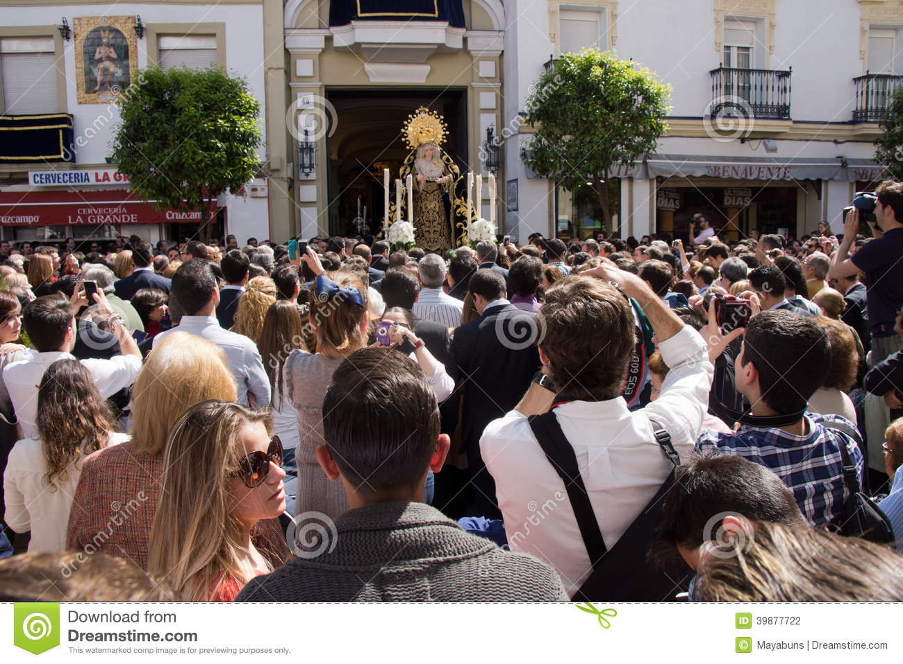 Procession in Seville