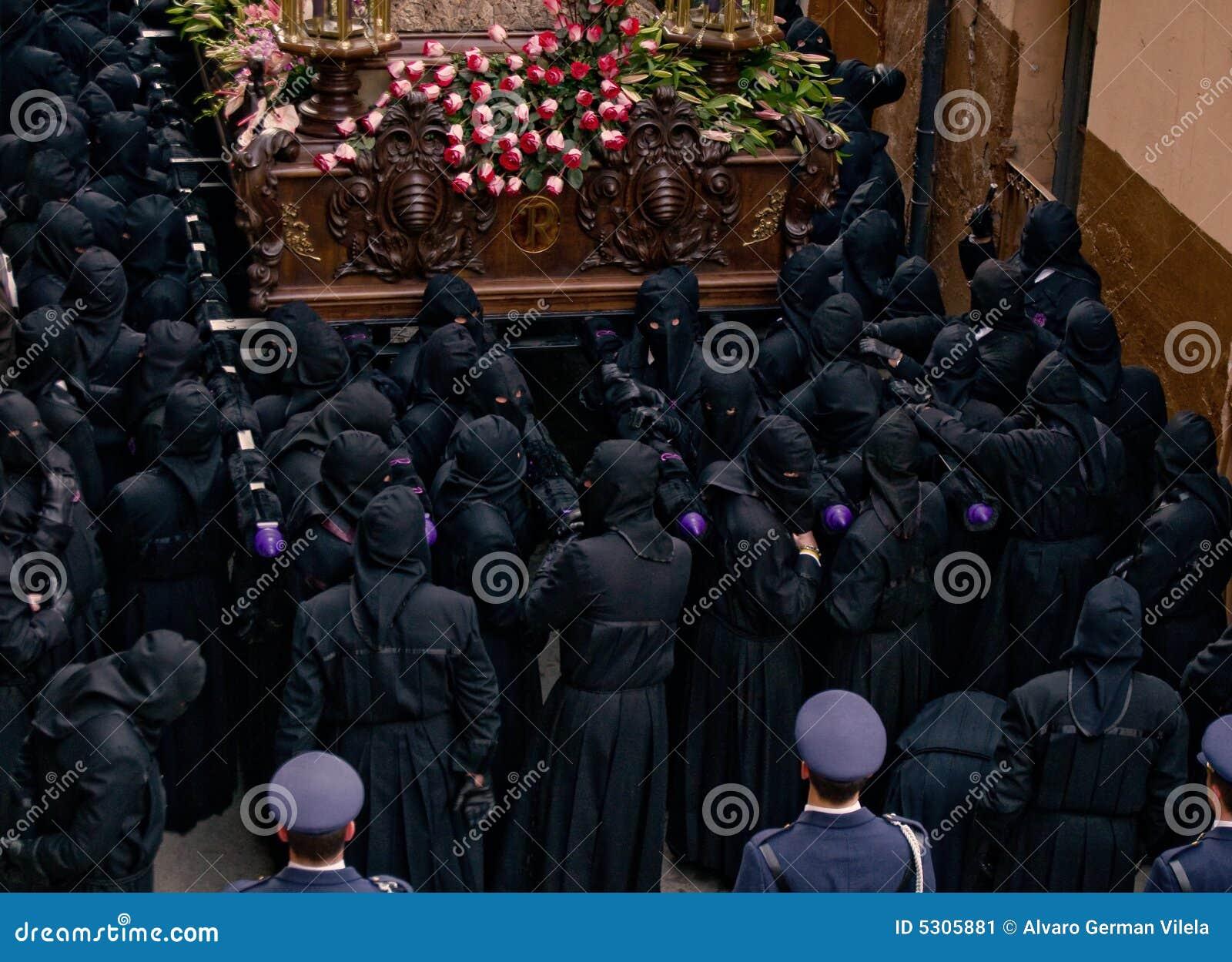 Download Processioni Religiose In Settimana Santa. La Spagna Fotografia Editoriale - Immagine di jesus, passione: 5305881