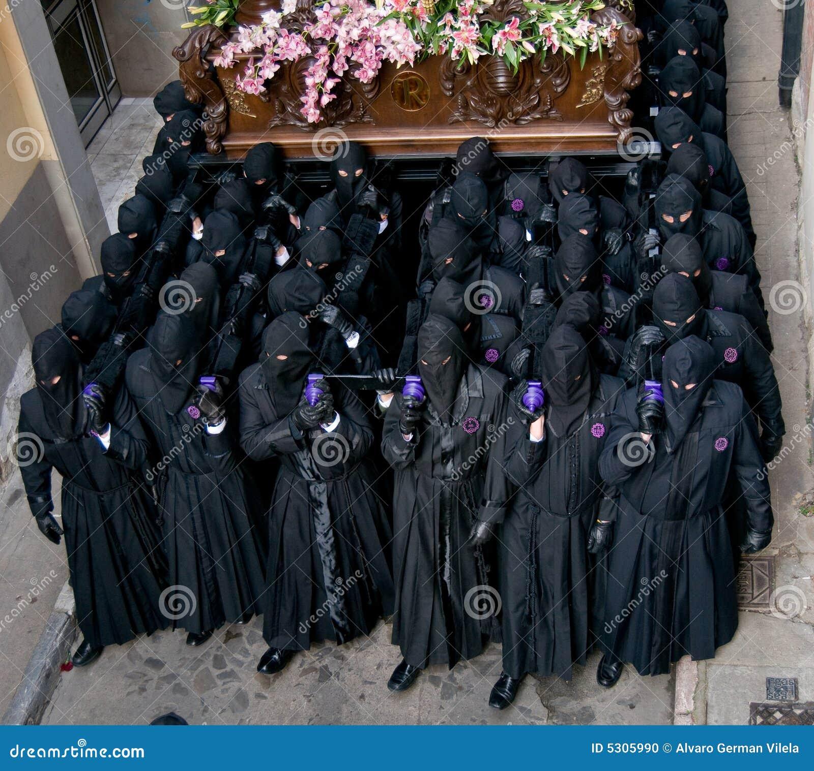 Download Processioni Religiose In Settimana Santa. La Spagna Fotografia Stock - Immagine di chiesa, pasqua: 5305990
