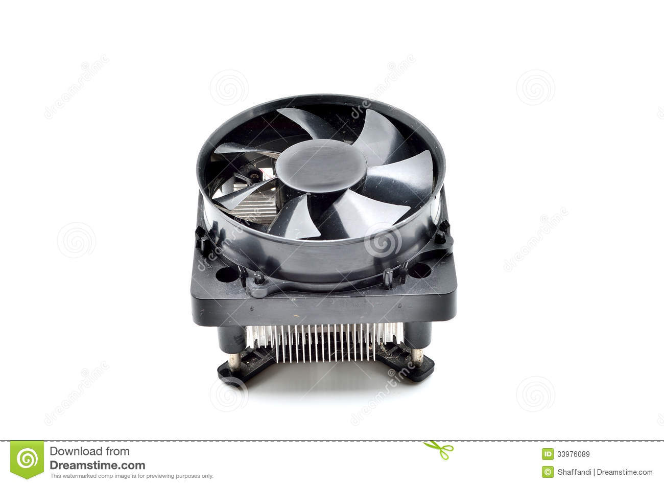 how to clean heatsink on stock cpu cooler