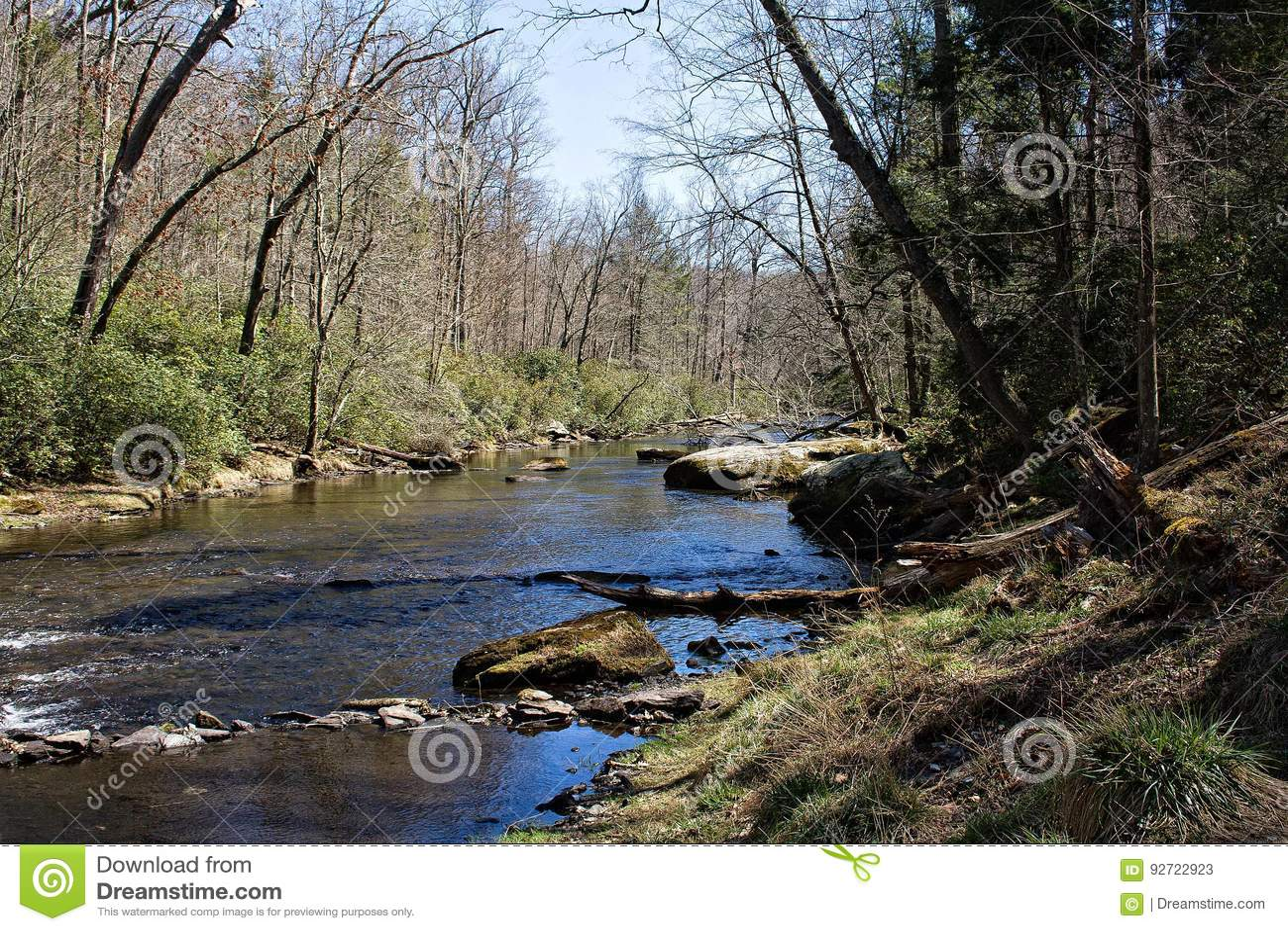 Proch rzeki Headwaters