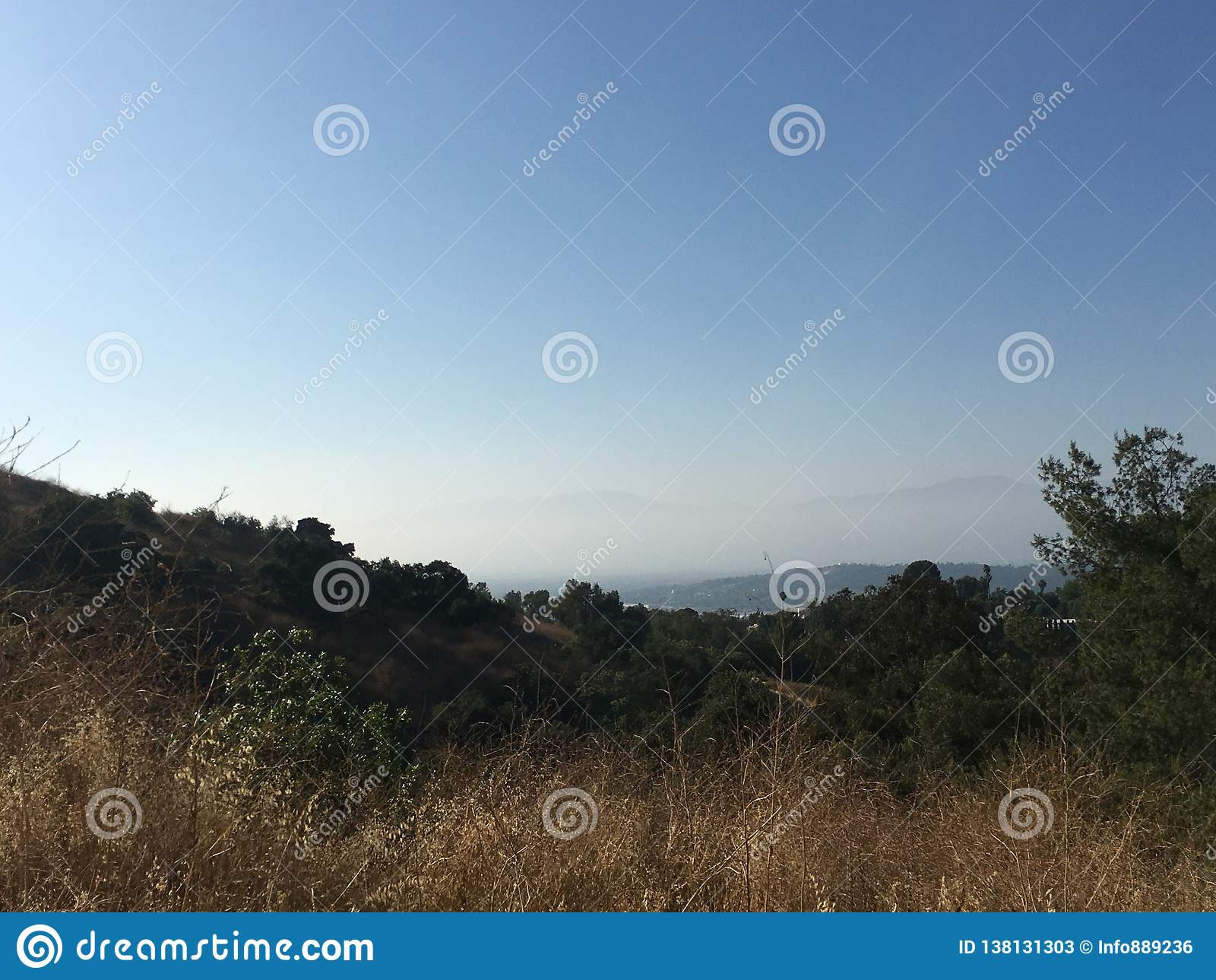 Prochowy jar - San Gabriel dolina