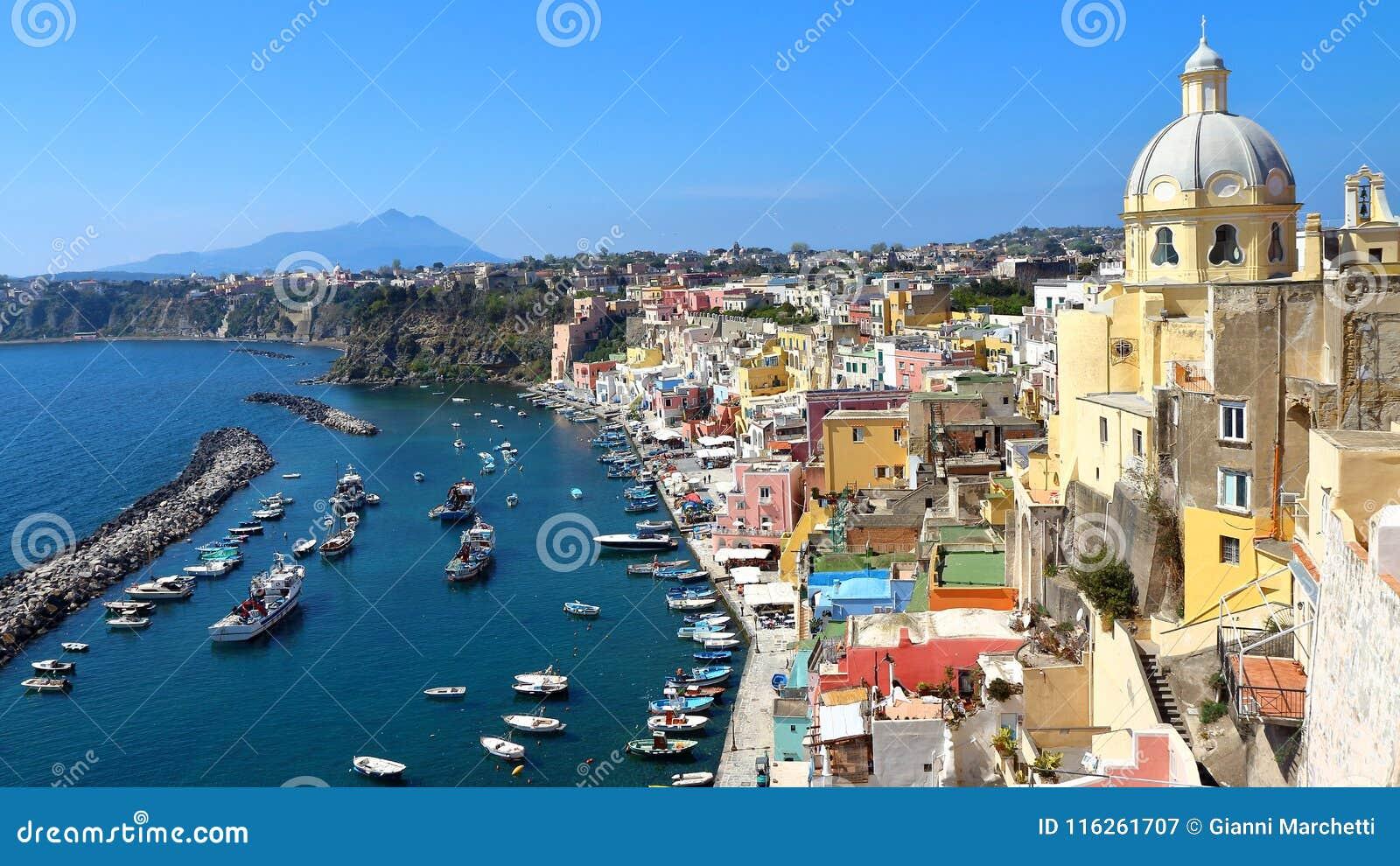 Procida, Nápoles, Italia