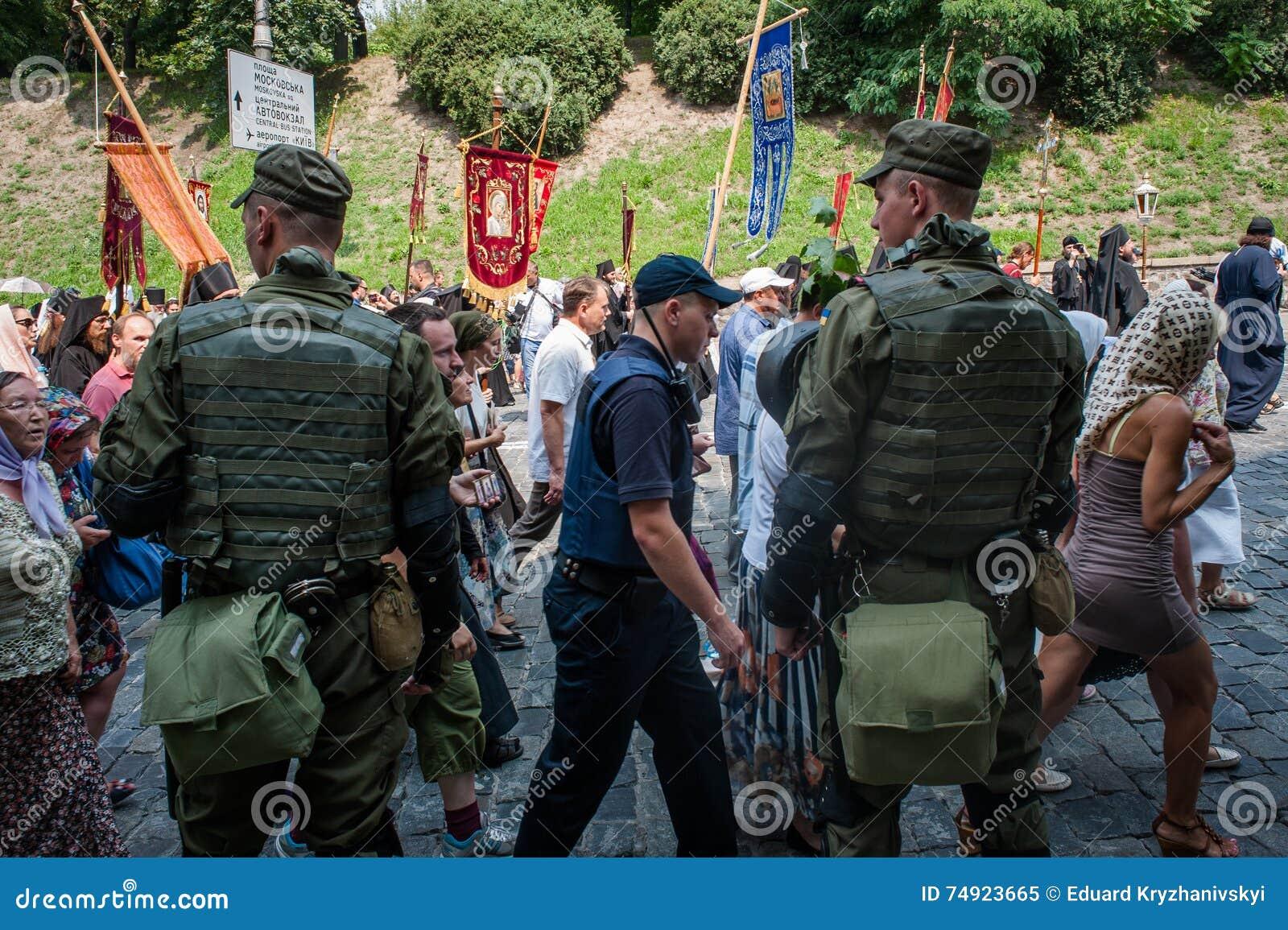 Procissão para a paz em Kyiv