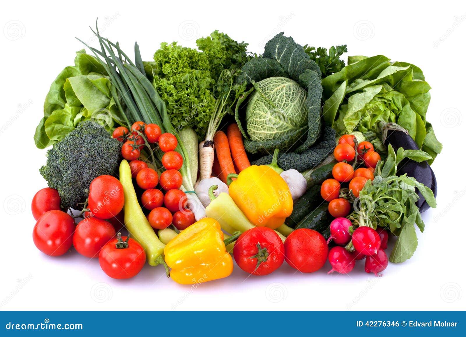 Prodotto-verdure fresche di vegetables