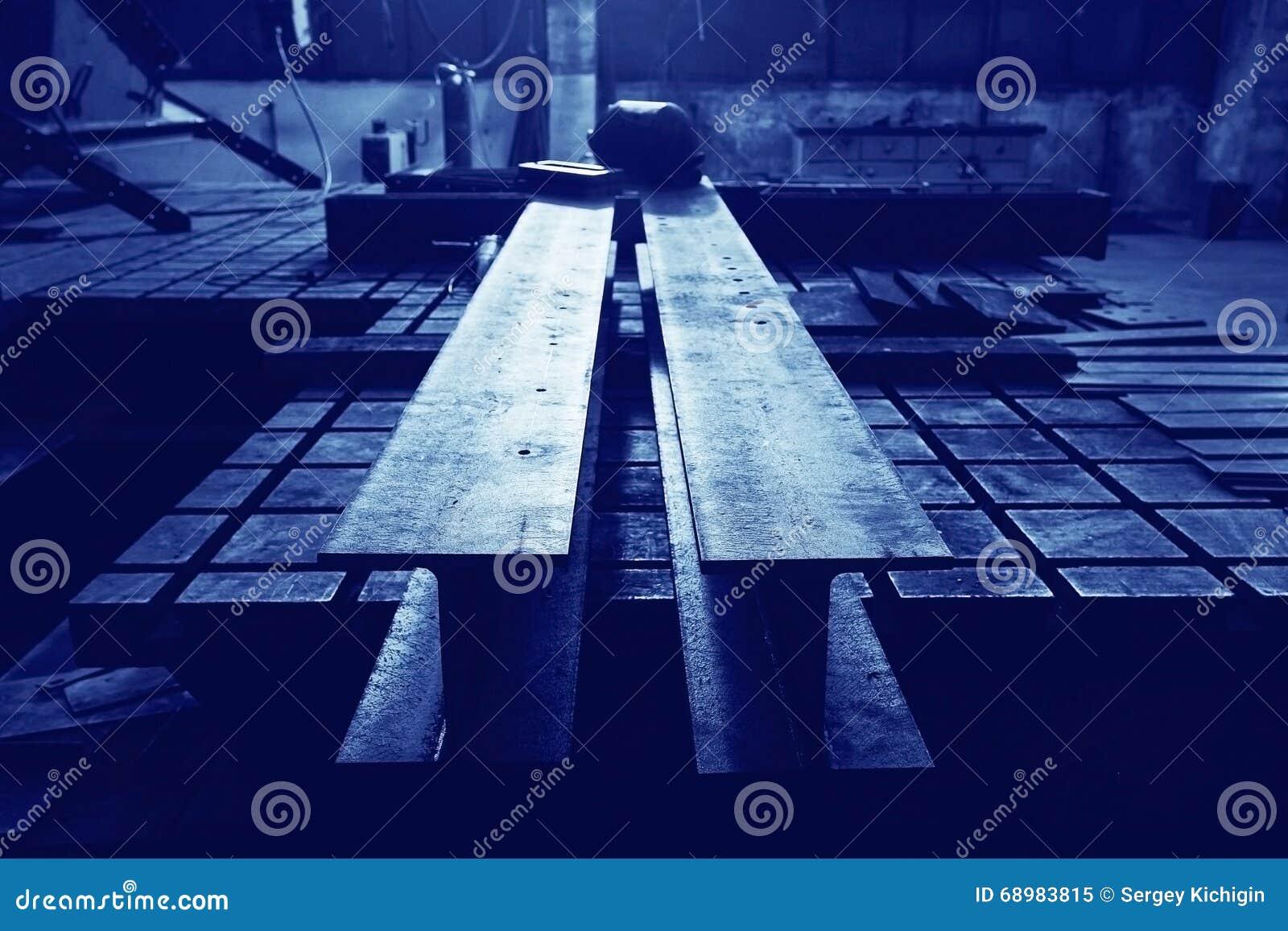 Producción de estructuras del metal