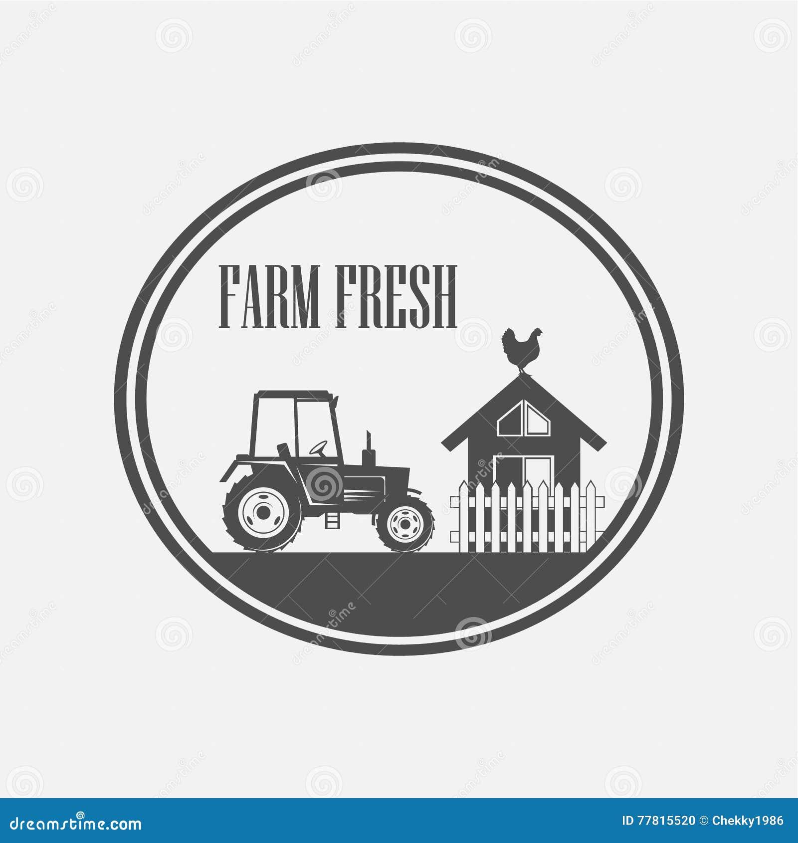 Producción de granja fresca