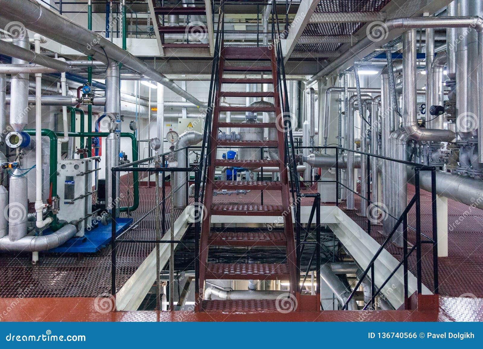 Producción de planta industrial especializada de las grasas y de los aditivos alimenticios
