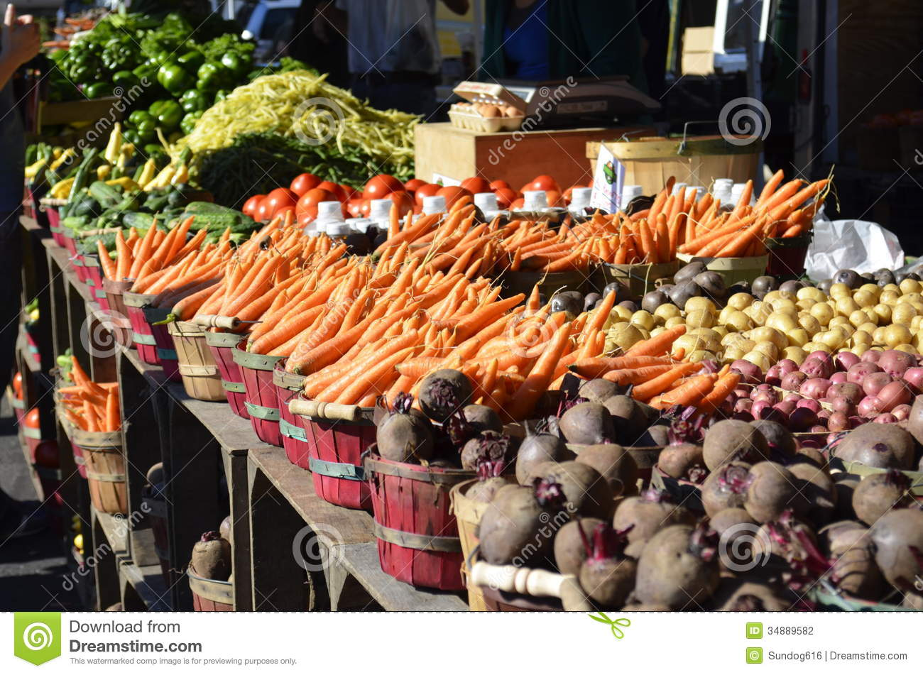 Produce For Sale Stock Photography - Image: 34889582