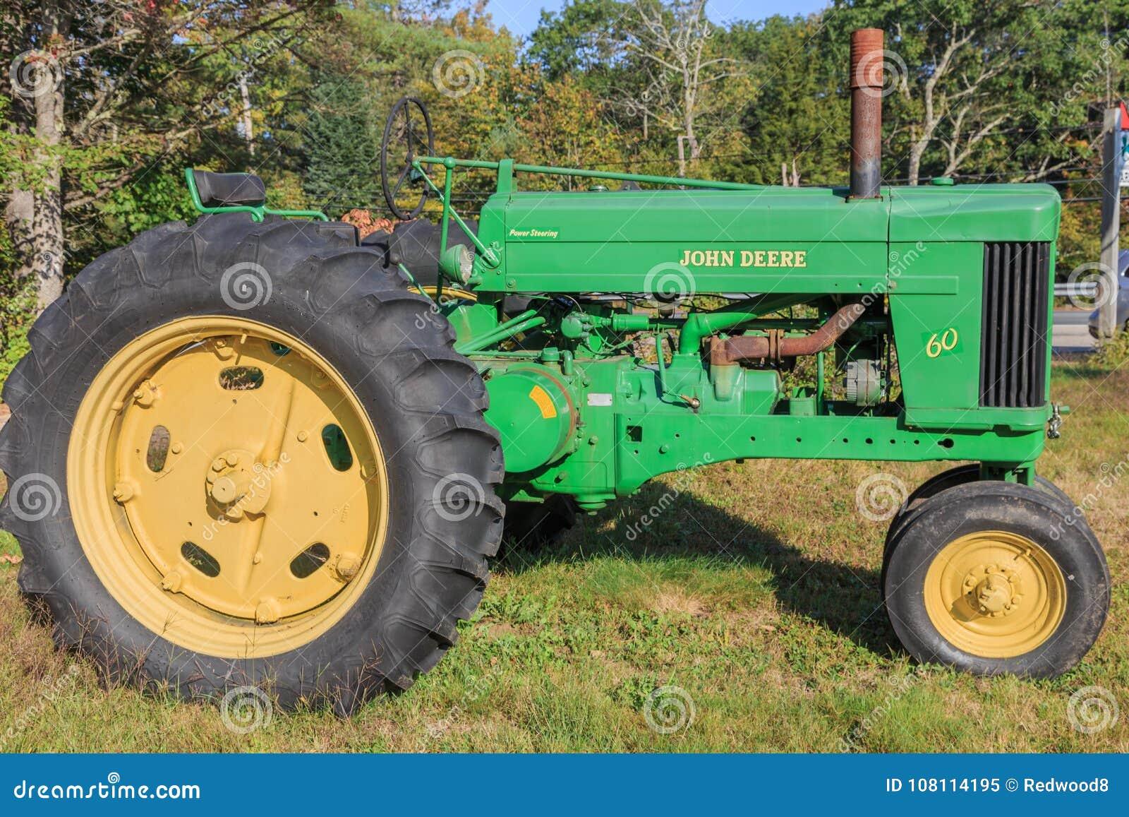 Vintage John Deere Model 60 Tractor