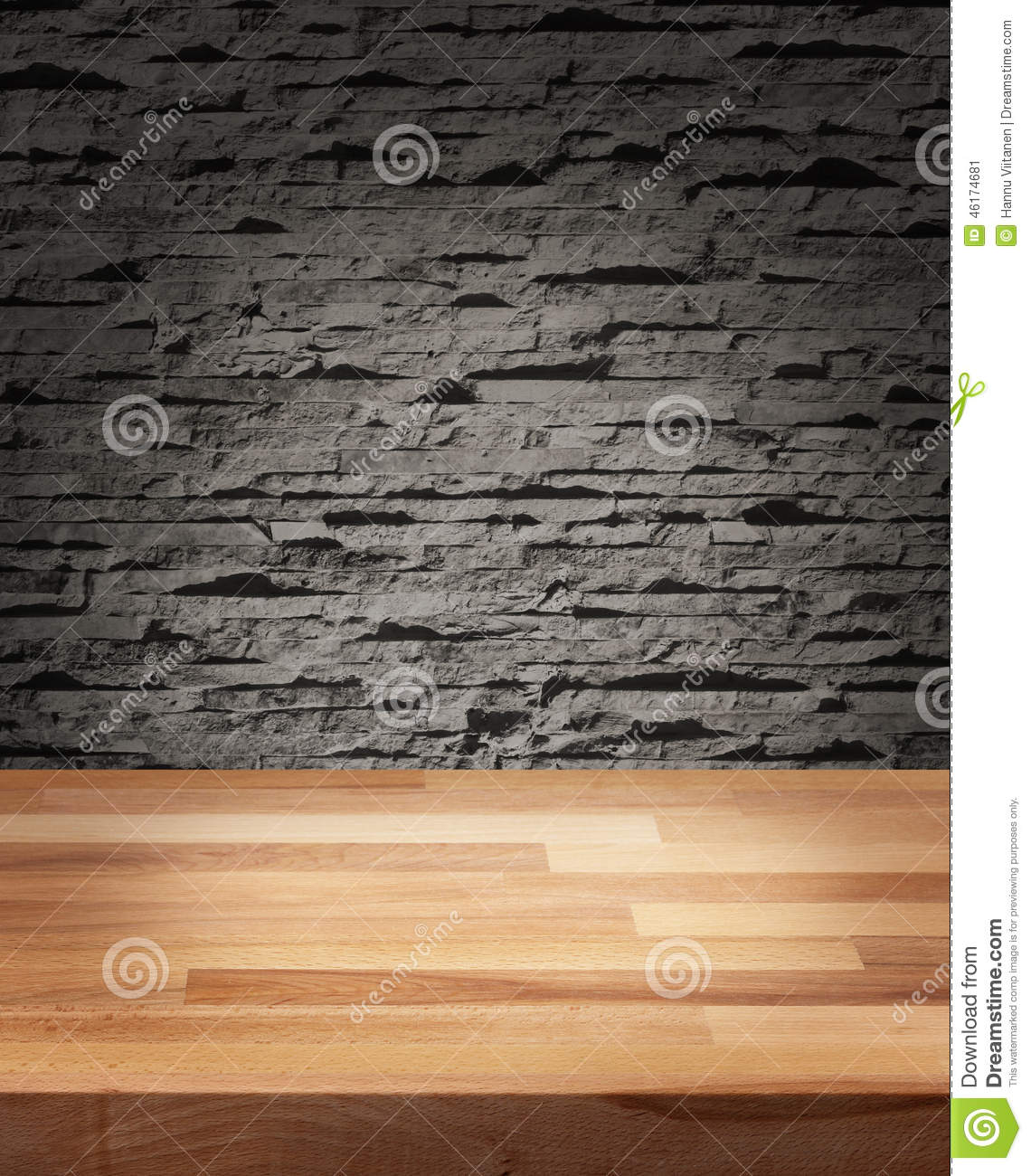 product photo template wooden table stock photo image 46174681. Black Bedroom Furniture Sets. Home Design Ideas