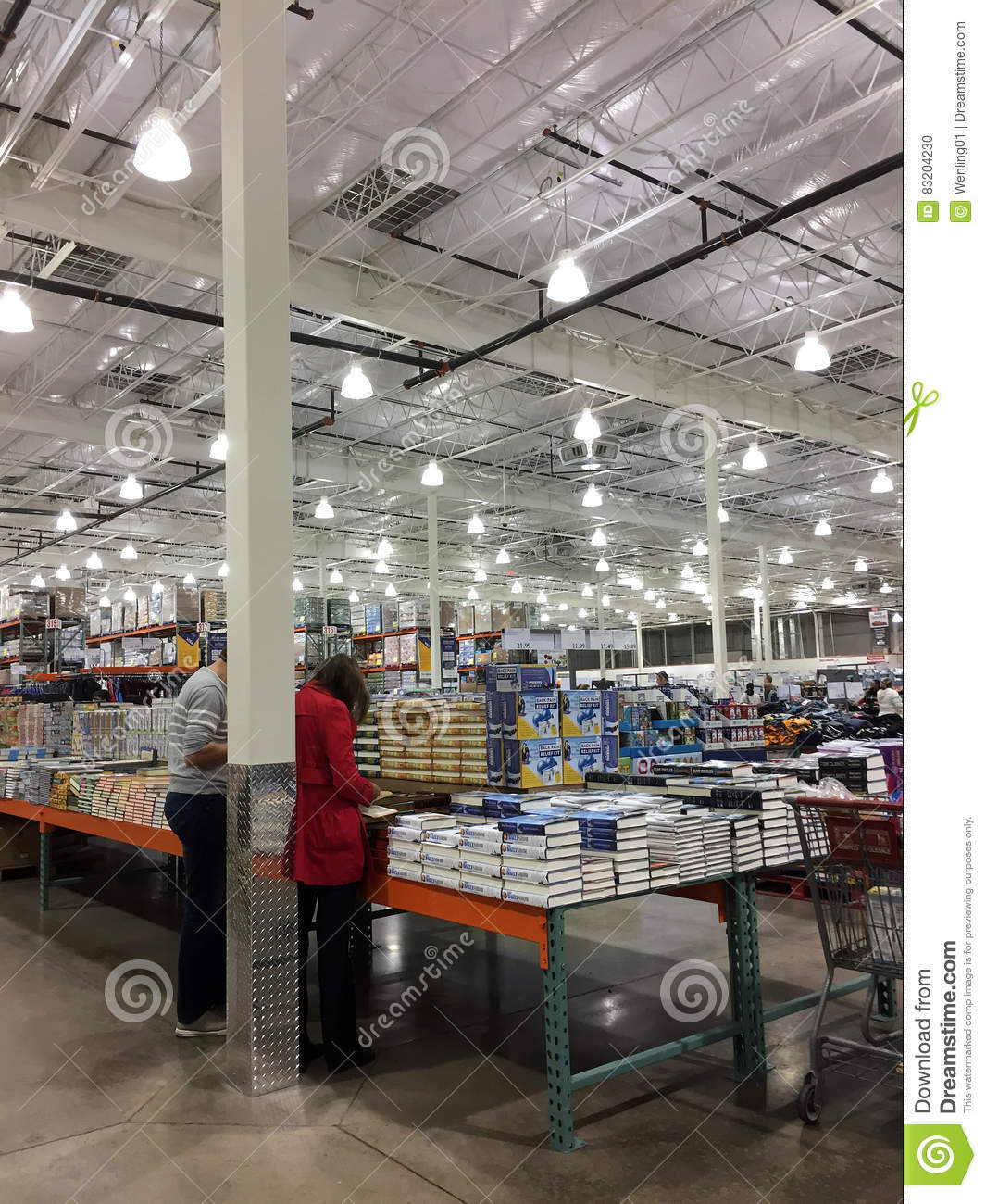 Product For Sale At Store Costco Editorial Image