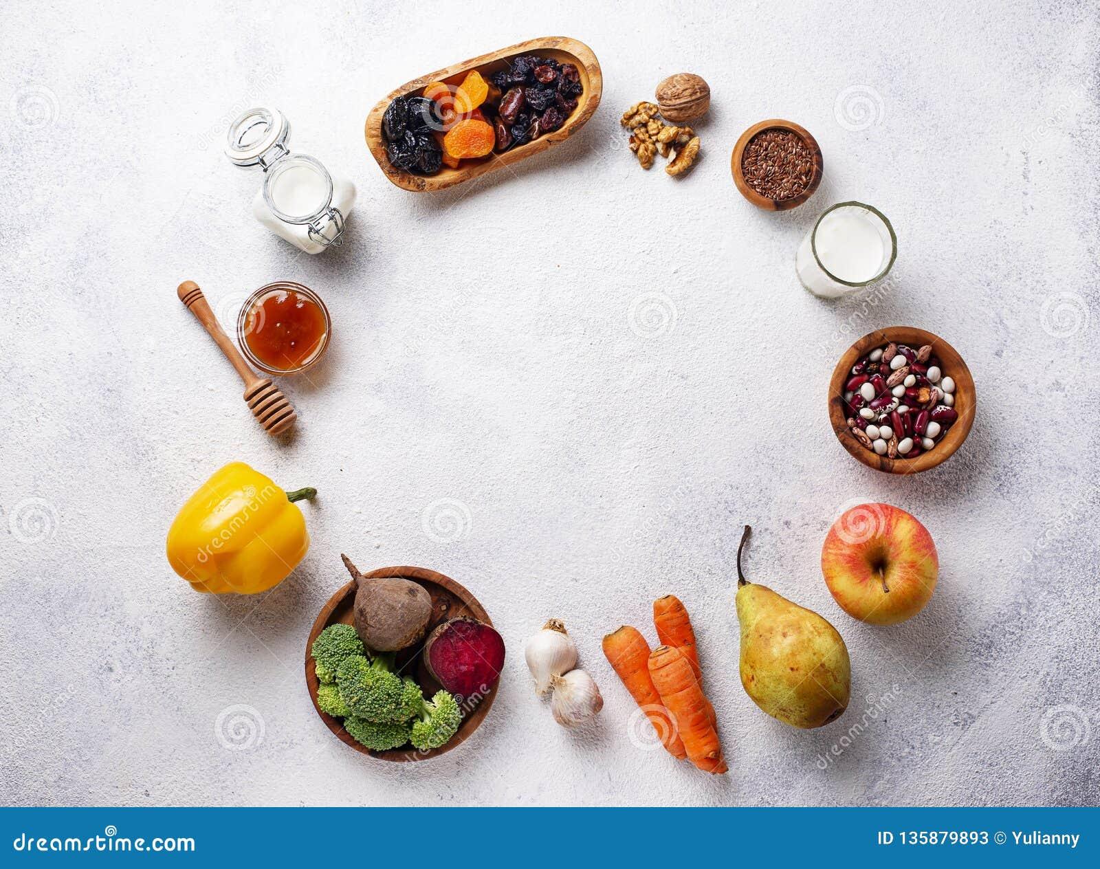 Producten voor gezonde darm Voedsel voor darm