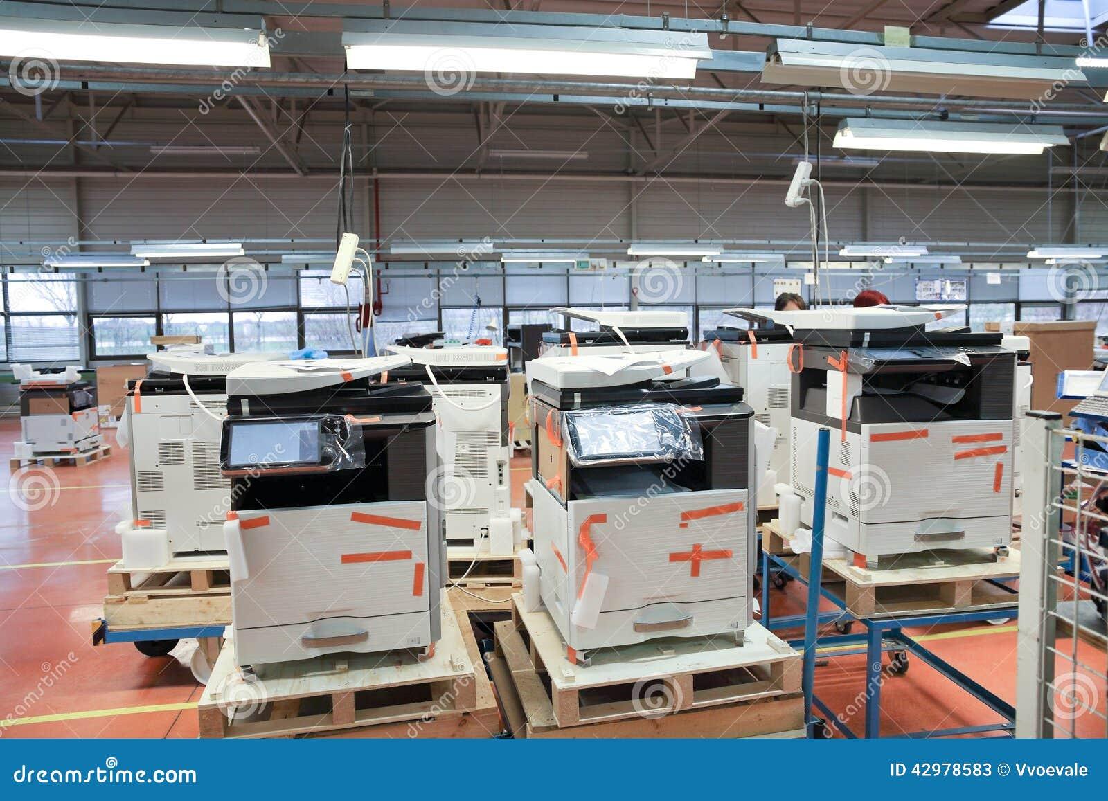 Production des dispositifs de bureau