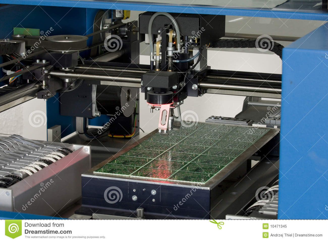Production electronic component