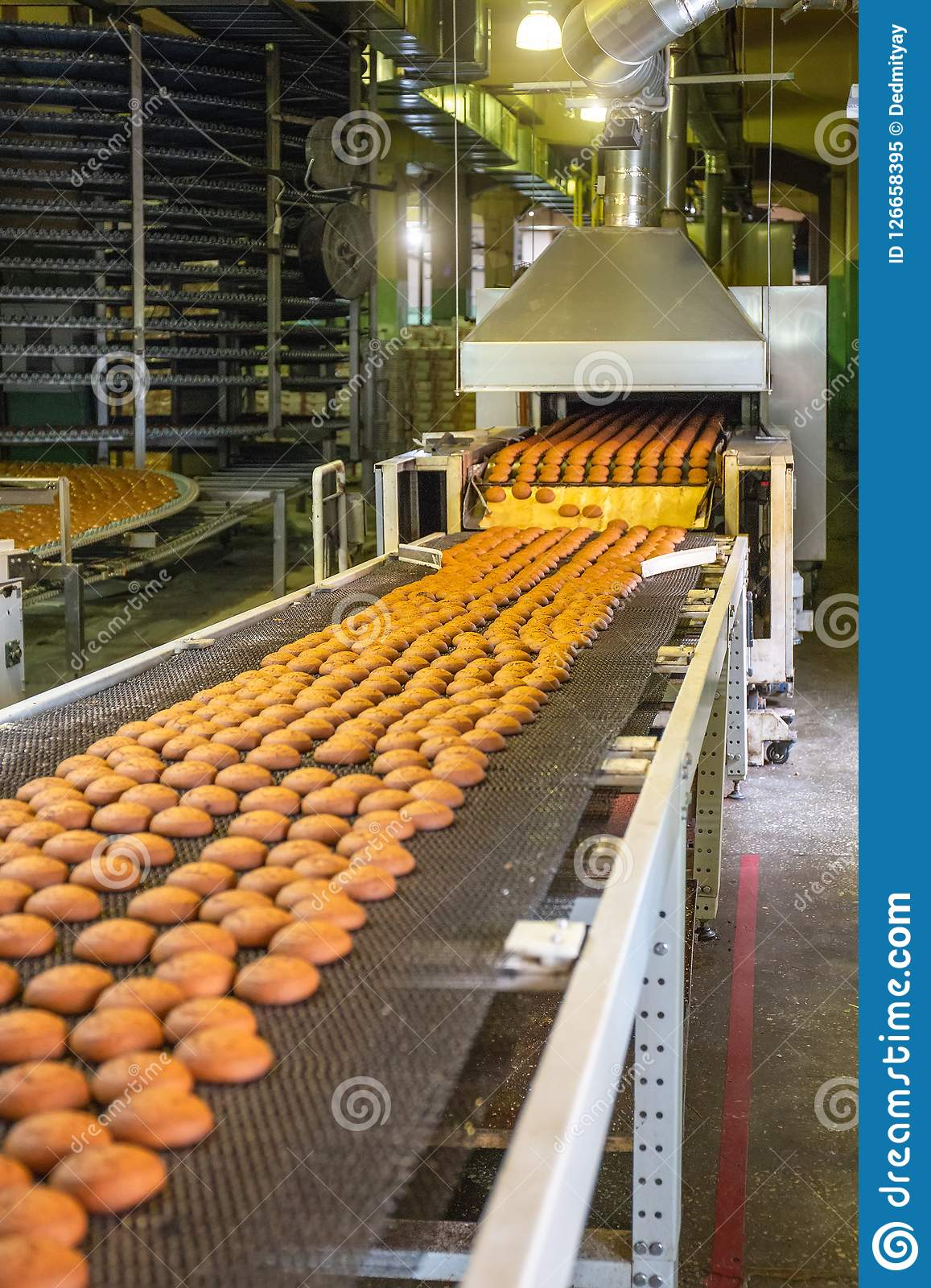 Industry fabrication biscuits and crackers