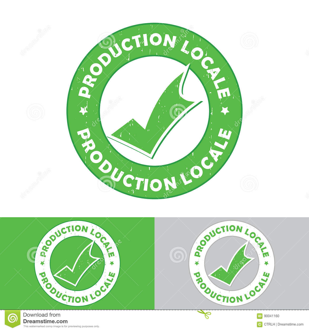 Production Locale French Language: Locally Product Stock