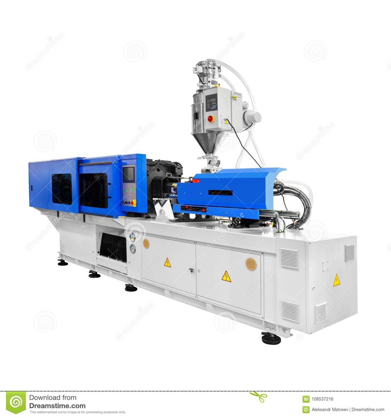 Production Machine For Manufacture Products From Pvc Plastic