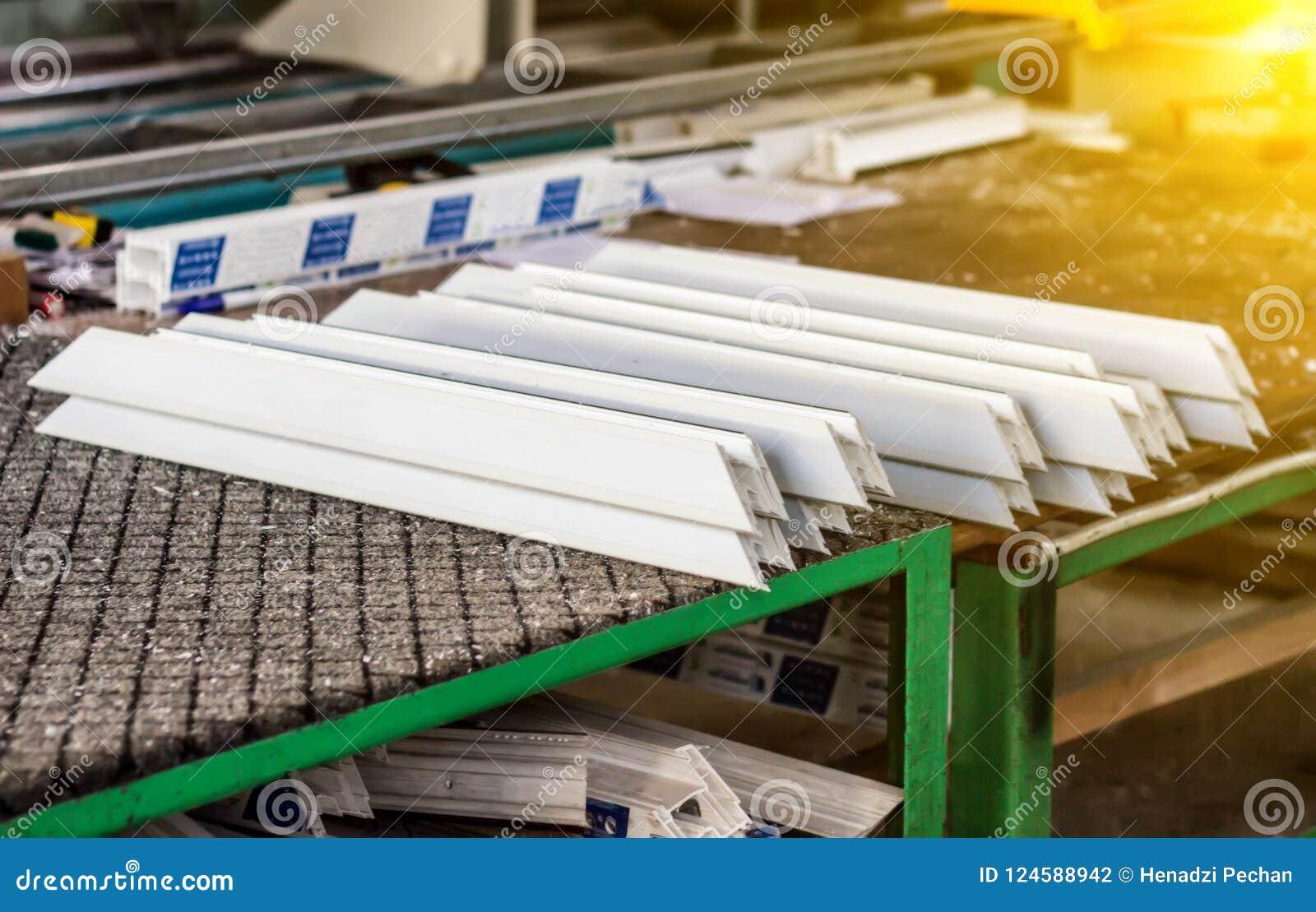 Plastic profiles for PVC windows 46