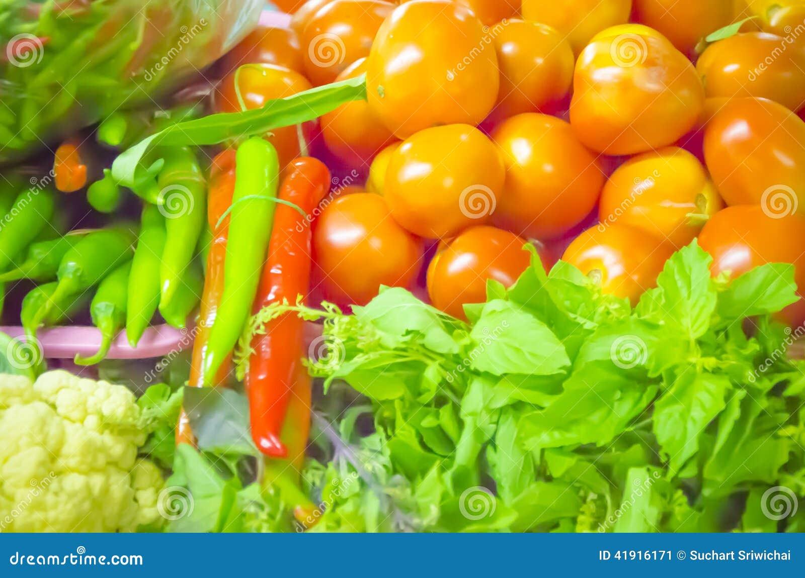 Producto-vehículos frescos de vegetables