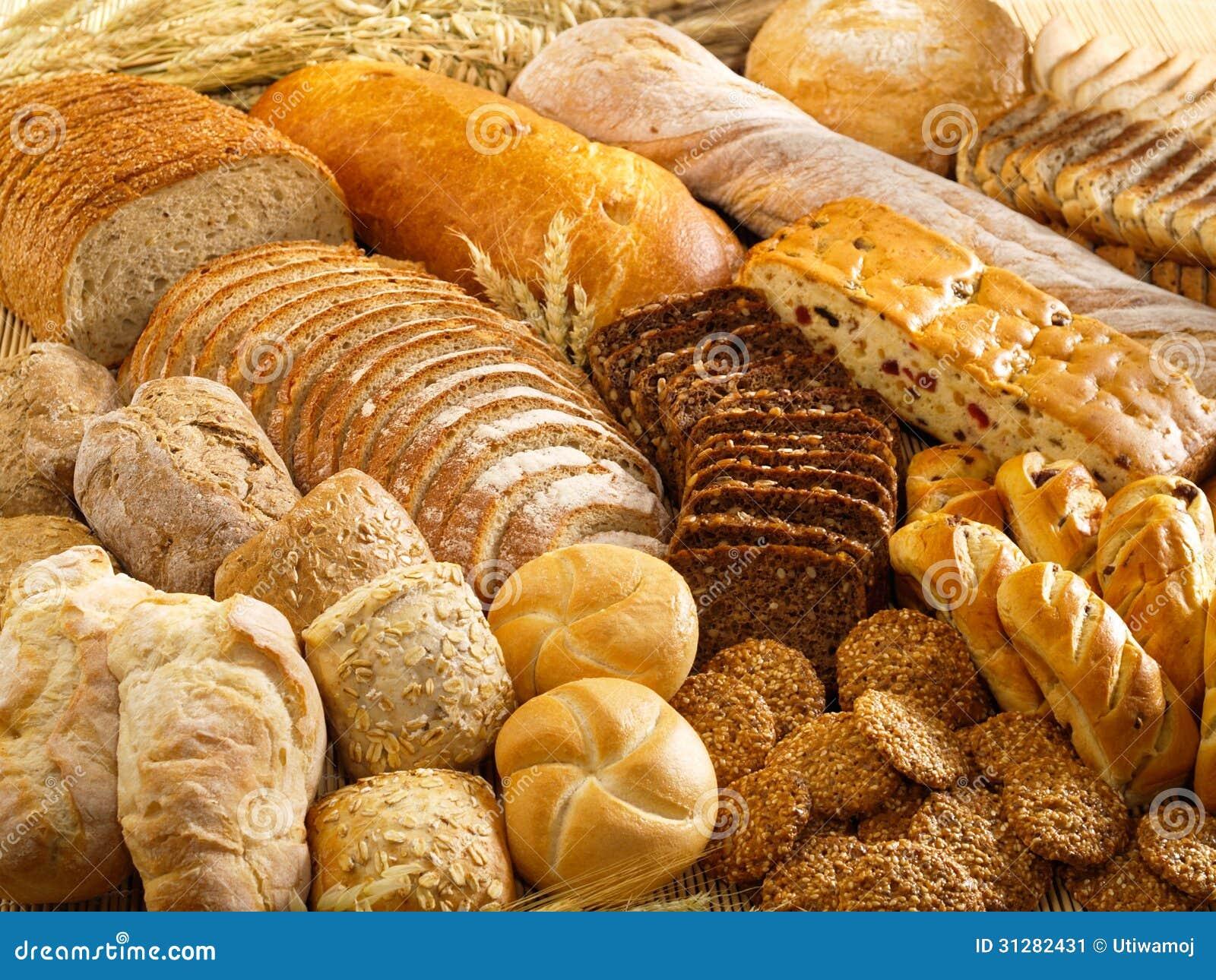 Productos de la panadería