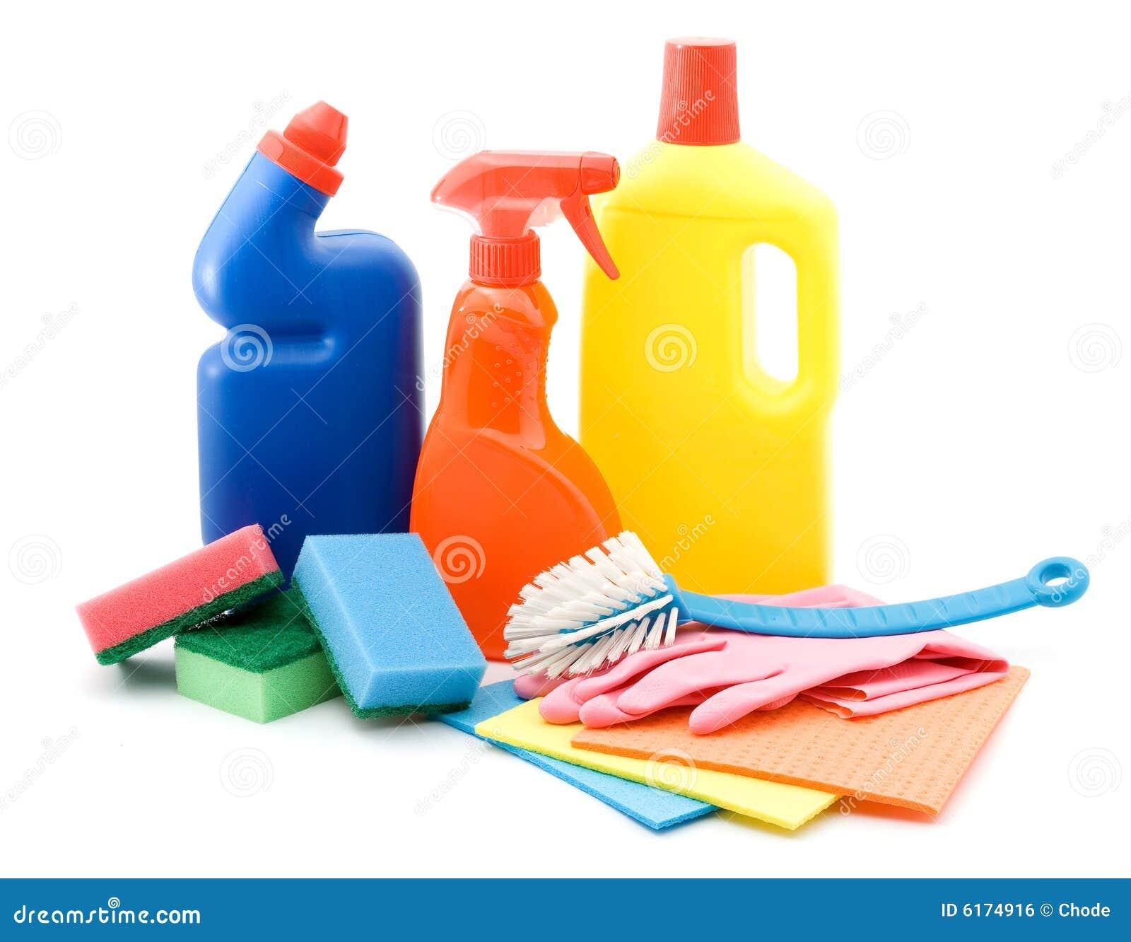 Productos de limpieza foto de archivo imagen de polvo for Productos de limpieza