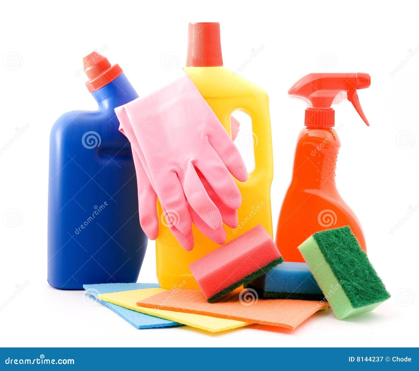 Productos de limpieza imagen de archivo imagen de guantes - Imagenes de limpieza de casas ...