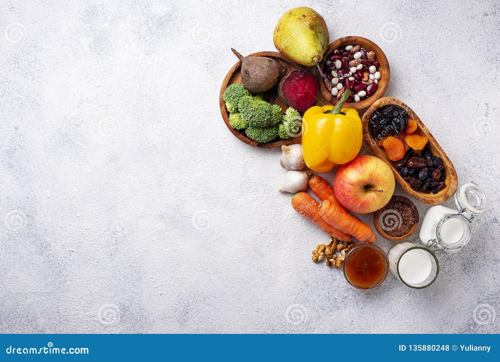 Productos para el intestino sano Comida para la tripa