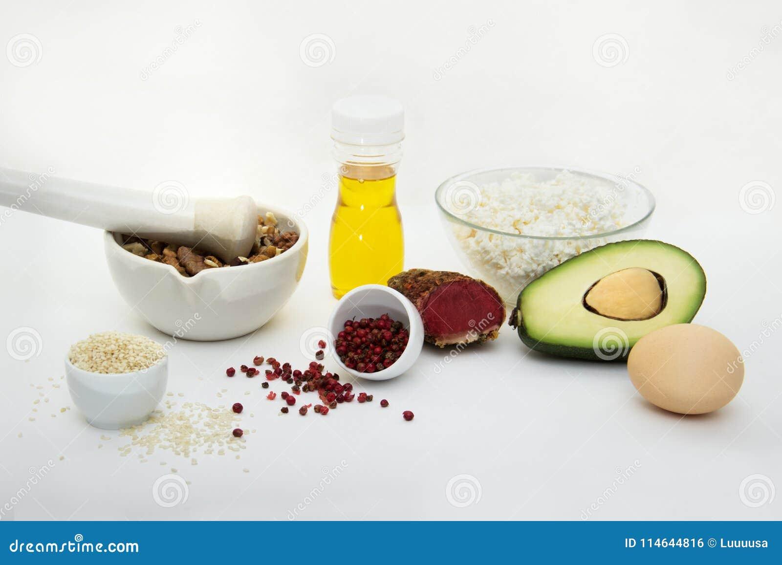 dieta alta en grasas buenas