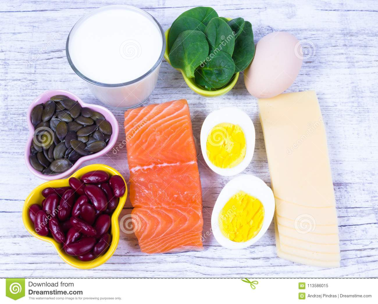 Products Containing A Lot Of Vitamin D Close Up Stock Image Image Of Background Beans 113586015